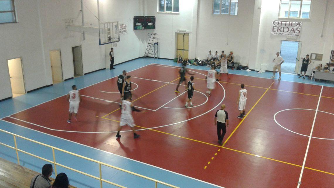Il Basket Ghilarza parte male: vince la Dinamo 2000 Sassari 51-76