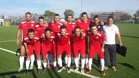 Calcio 1a Categoria Girone C: l'Oristanese di Mister Cuccu ancora in rodaggio con il Santa Giusta