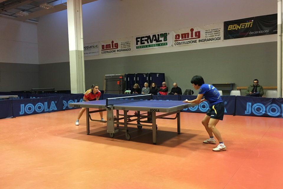 Weekend difficile per il Tennistavolo Norbello, sconfitta in Emilia l'A1 Femminile