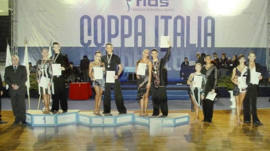 Danza Sportiva. Andrea Erdas e Alessia Carta della Cuban Star di Abbasanta a un passo dal titolo in Coppa Italia