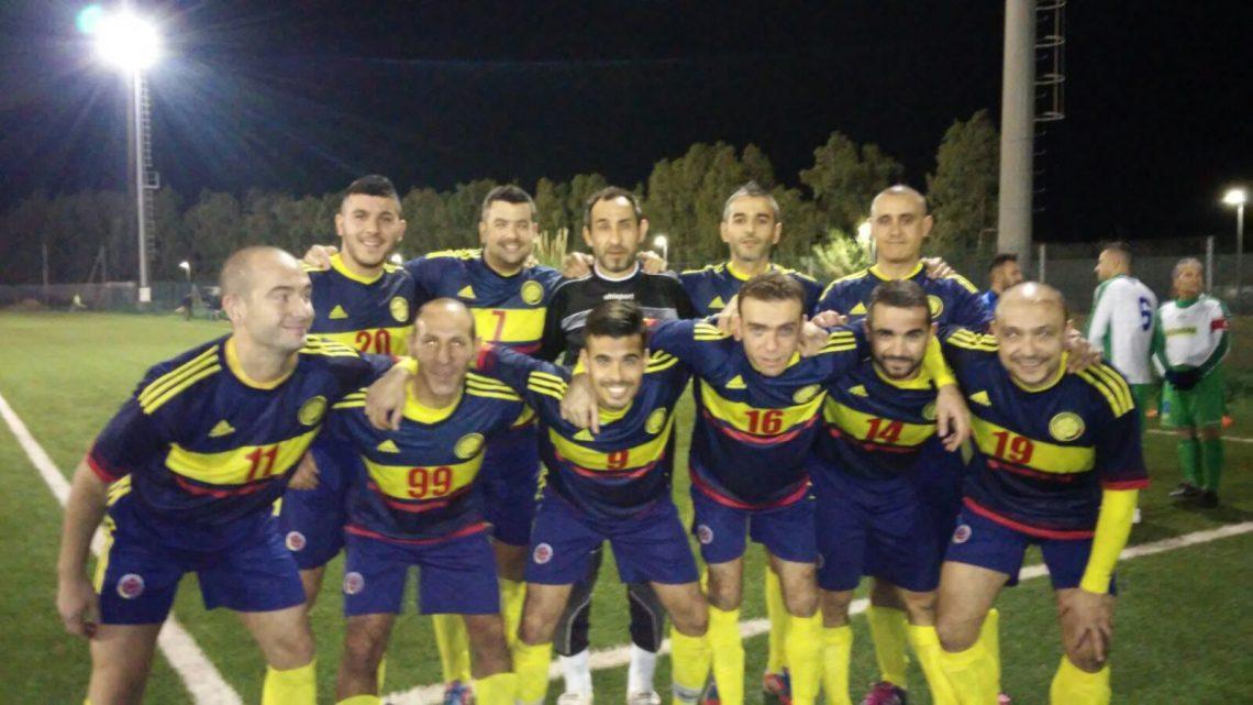 Calcio Over 35. Sas Mendulas Ghilarza accede alla seconda fase. Sergio Loi chiude la prima fase con 18 gol