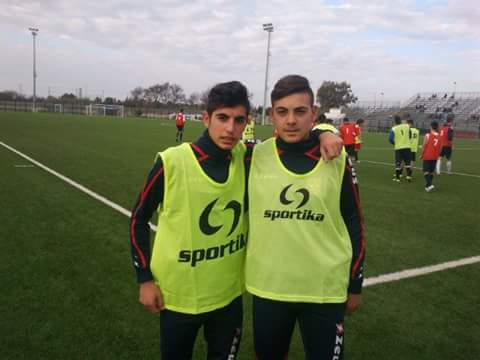 Calcio Rappresentativa Regionale Juniores. Convocati Girseni, Patta e Fois