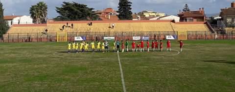 Calcio 1a Categoria Girone C. Oristanese e Abbasanta non si fanno male e finisce 1-1