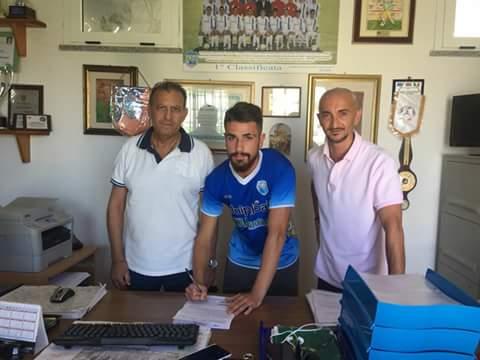 Calcio Serie D. Gianmarco Marcangeli firma per il Latte Dolce