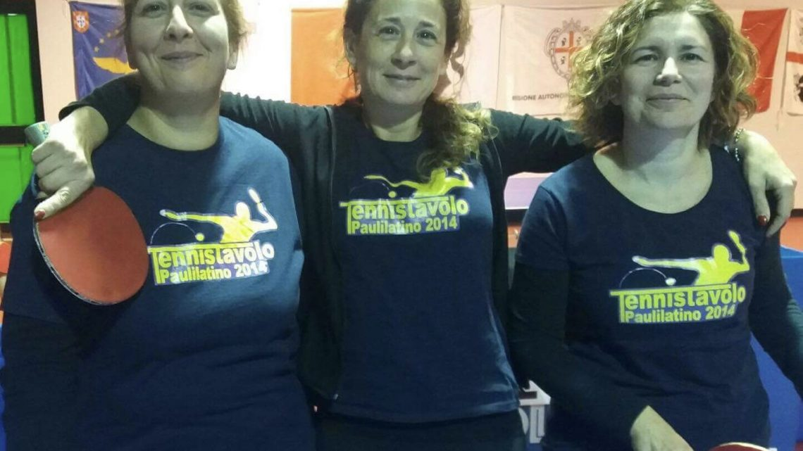 Tennis Tavolo C2 Femminile. Promettente esordio per il TT Paulilatino