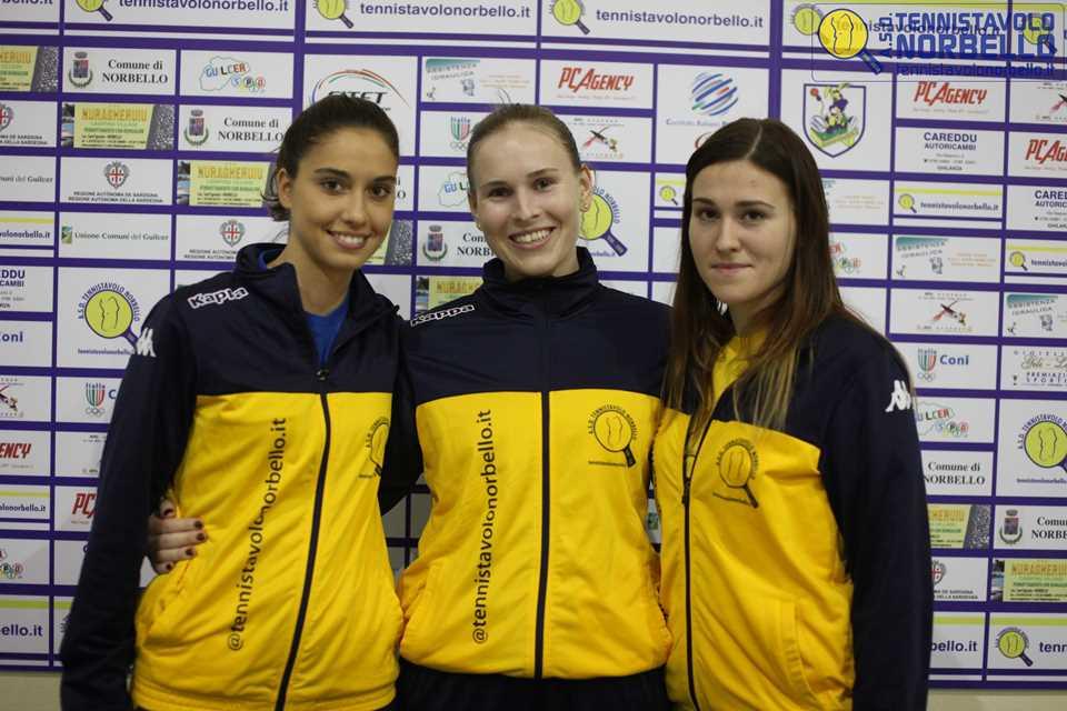 Tennistavolo Serie A1 Maschile e Femminile. Norbello: Donne qualificate alla Coppa Italia e in zona play-off, uomini ultimi in classifica