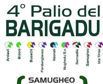 Ippica. Domenica 14 luglio a Samugheo il 4° Palio del Barigadu