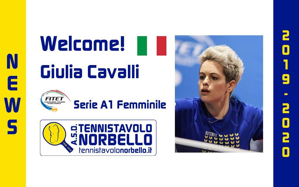 Tennistavolo Norbello. In A1 Femminile arriva l'esperta Giulia Cavalli