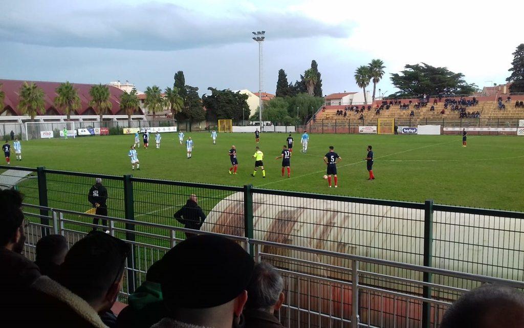 La Tharros si aggiudica per 2-0 il derby con la San Marco Cabras