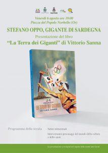 """Presentazione Libro """"La Terra dei Giganti"""" - Norbello 06 ago. 2021"""